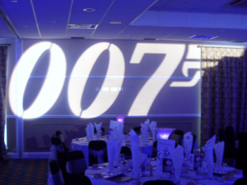 007 logo projection