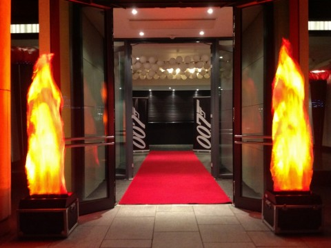 bond-brooklands-flame-red-carpet-entrance-1024x765